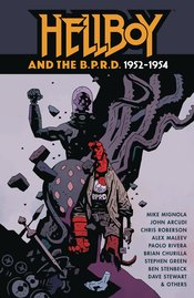 HELLBOY AND THE BPRD 1952-1954 HC (C: 0-1-2)