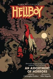 HELLBOY AN ASSORTMENT OF HORRORS SC NOVEL